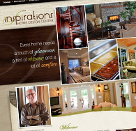 Inspirations Home Design Center Website
