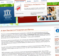 Professional Warranty Service Corporation Website